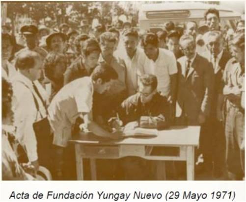Yungay 30 de mayo 1971