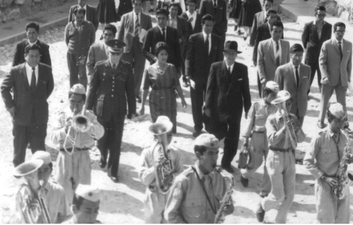 ENTREGA TERRENO 1963