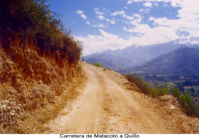 Carrtera Matacoto a Quillo