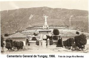Cementerio 1966_Foto Jorge Alva Mendez