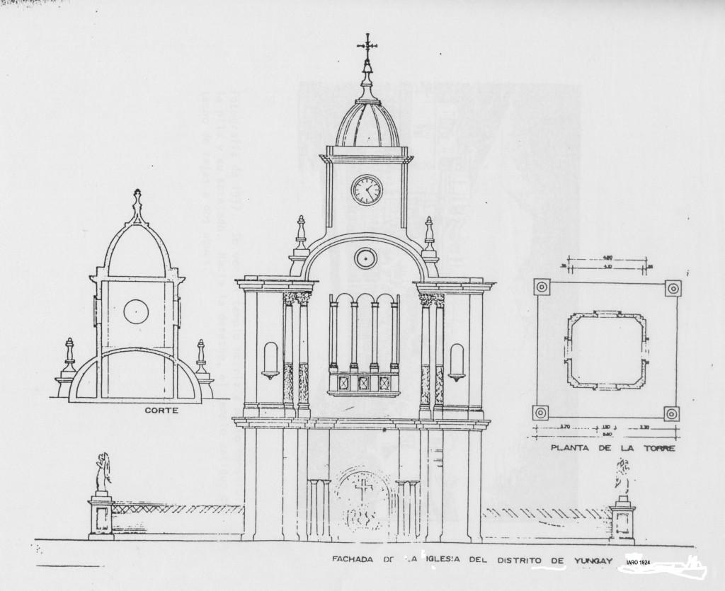 Templo_diseño Amadeo Ramos Olivera en 1924